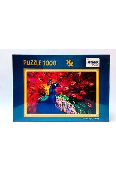 İstanbul Puzzle Tavus Kuşu Temalı 1000 Parça Puzzle
