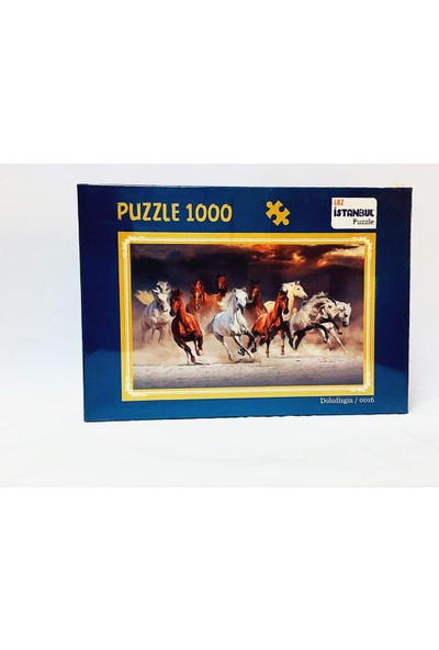 İstanbul Puzzle Doludizgin Temalı 1000 Parça Puzzle