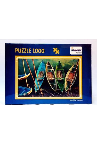 İstanbul Puzzle Kayıklar Temalı 1000 Parça Puzzle