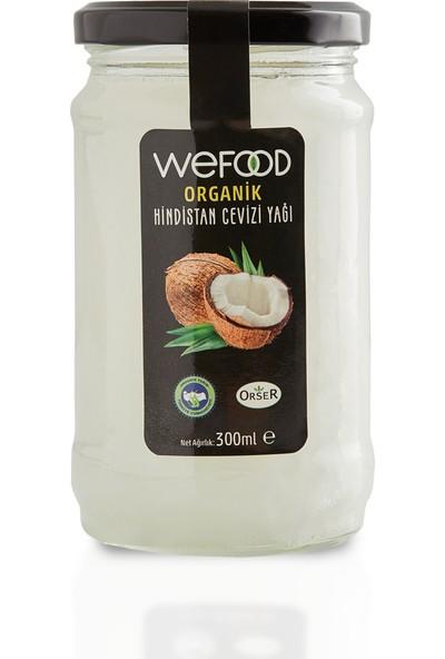 Wefood Organik Hindistan Cevizi Yağı 300 ml