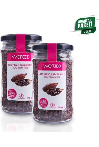 Wefood Ham Kakao Parçacıkları 2' li 150 gr