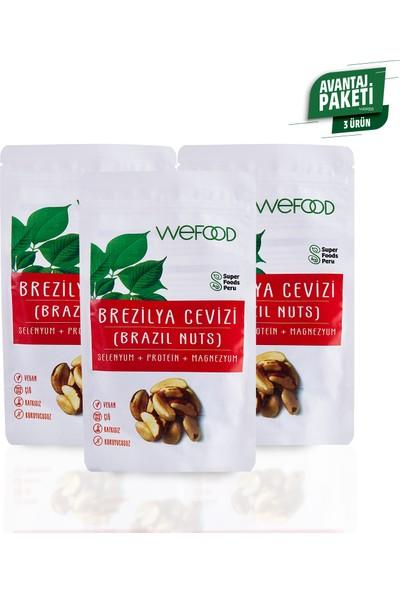 Wefood Brezilya Cevizi 3' lü 80 gr