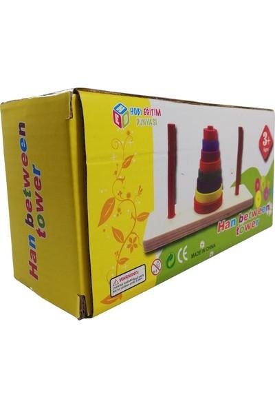 Matematiksel Zeka Oyunu Hanoi Kulesi