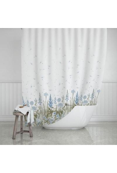 Prado Kır Banyo Perdesi, Duş Perdesi 180X200CM