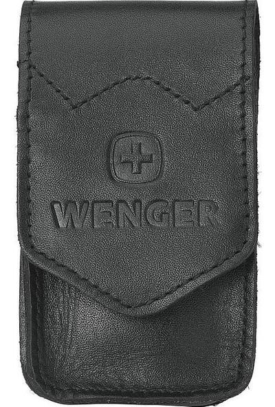 Wenger Case 713 Düz Deri Kılıf