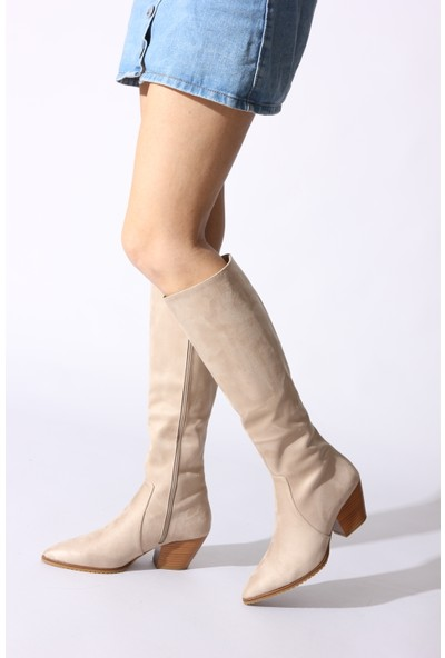 Rovigo Plus Kadın Ten Ayakkabı