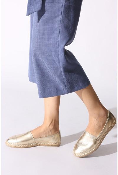 Rovigo Plus Kadın Altin Ayakkabı