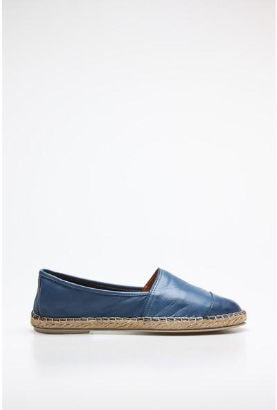 Rovigo Plus Kadın Kotmavi Ayakkabı