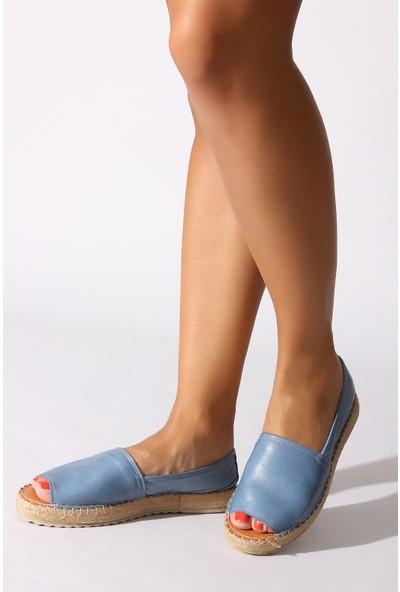 Rovigo Plus Kadın Kot Mavi Ayakkabı