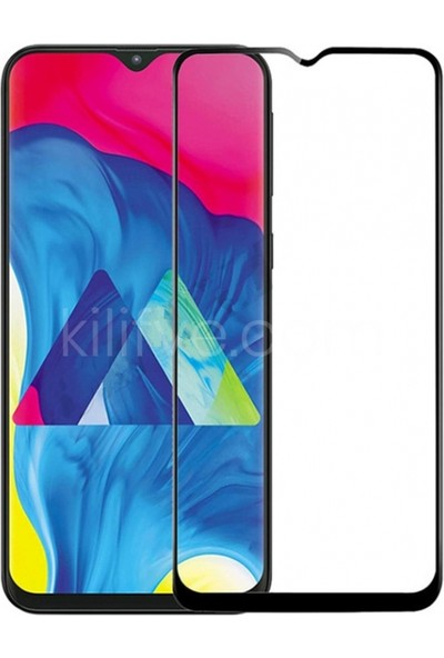 i-Stone Samsung Galaxy A30 Ultra Clear Flexible 6D Nano ClassEkran Koruyucu - Siyah