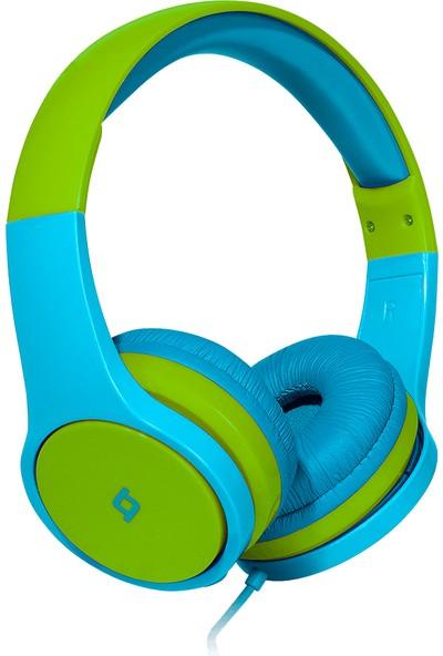 Ttec Bubbles Kids Kulaküstü Kulaklık 2KM115MY Mavi-Yeşil