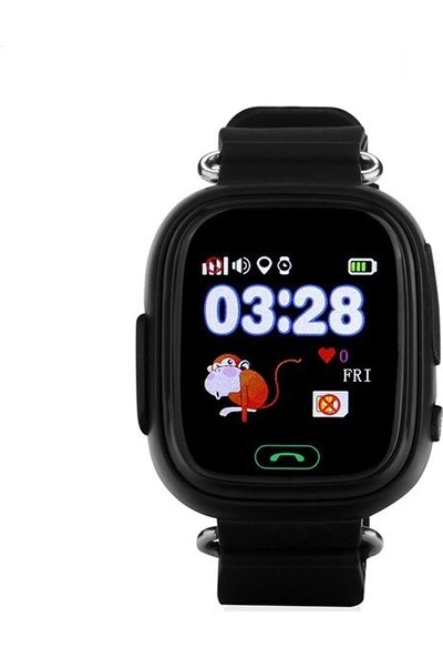 Tsmart Twatch Akıllı Çocuk Saati - Siyah