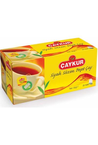Çaykur Siyah Süzme Poşet Çay 50 gr