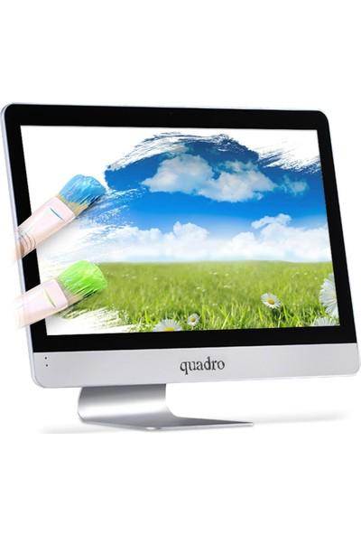 """Quadro Rapid AMD22 87826 AMD A10 8780P 8GB 256GB SSD AMD R7 Freedos 21.5"""" FHD All In One Bilgisayar"""