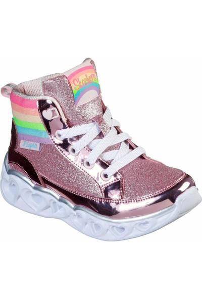 Skechers 20272L Pnk Heart Lights Işıklı Spor Çocuk Ayakkabı