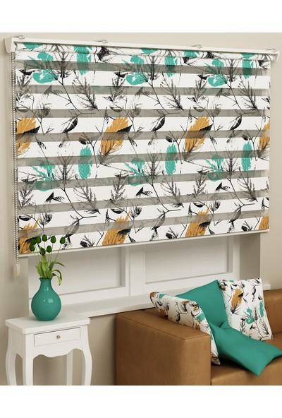 Sezerler Perde Baskılı Zebra Perde DZ587 60 x 200 cm