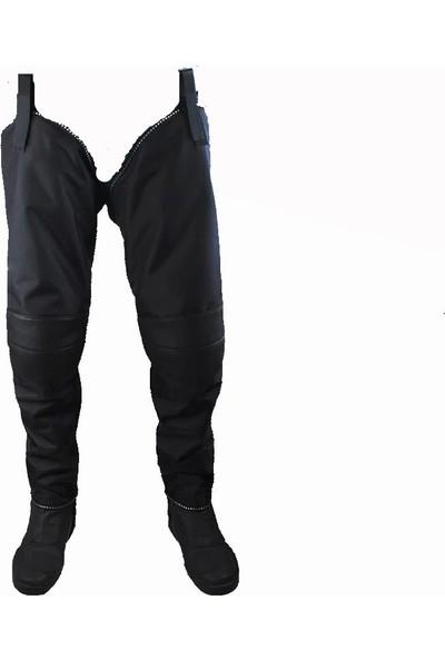 Motosiklet Kış Rüzgar Koruyucu Dizlik Askılı Pantolon