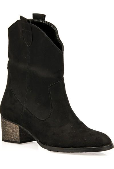 Uniquer Kadın Çizme 93481U 207 1 Siyah