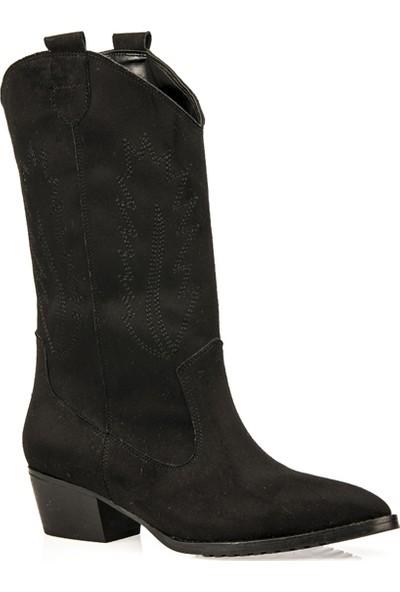 Uniquer Kadın Çizme 93481U 208 Siyah