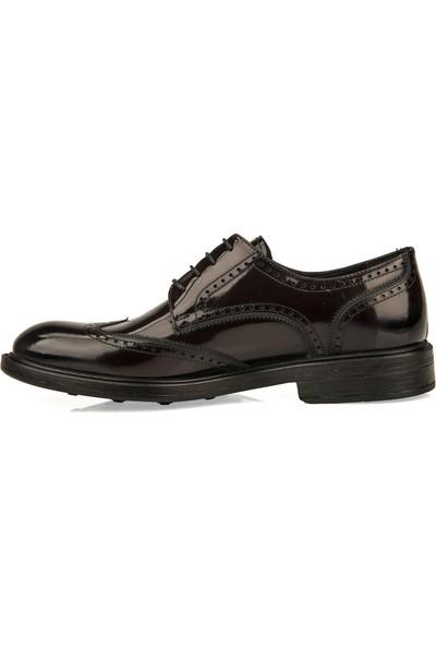 Ziya Erkek Hakiki Deri Ayakkabı 9350 2042 Bordo