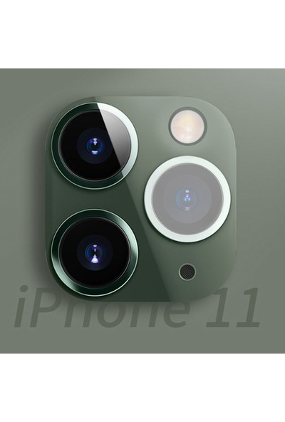 Ally AL-31203 Apple iPhone 11 Kamera Lens Koruma
