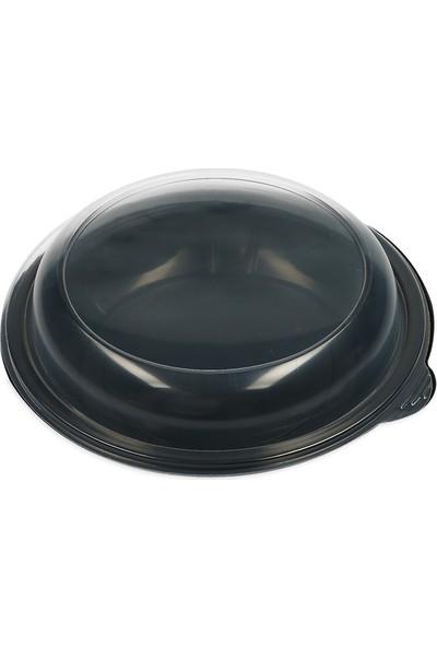 Ihtiyaç Limanı Plastik Salata Kabı ve Kapağı 25 Adet