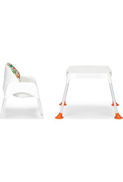Wellgro Çalışma Masalı Mama Sandalyesi, Portatif Bebek Yemek Masası