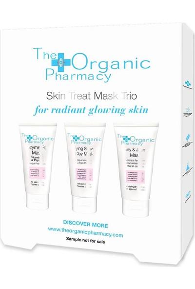 The Organic Pharmacy Skin Treat Mask Trio - Tanışma Kiti
