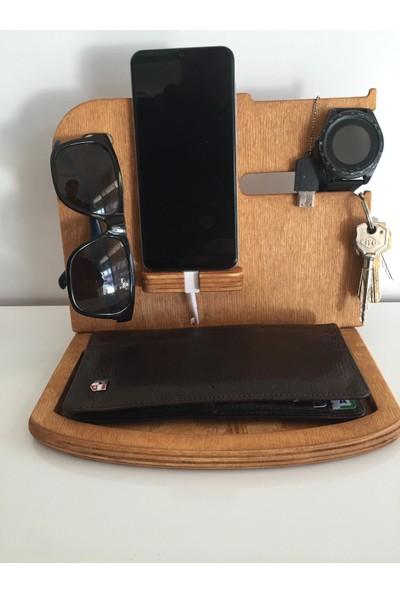Antdecor Ahşap Telefon ve Tablet Standı