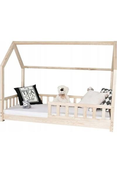 Ürün Şehri Montessori Yatak 90 x 190 cm Ahşap Çocuk Yatak Çocuk Karyola