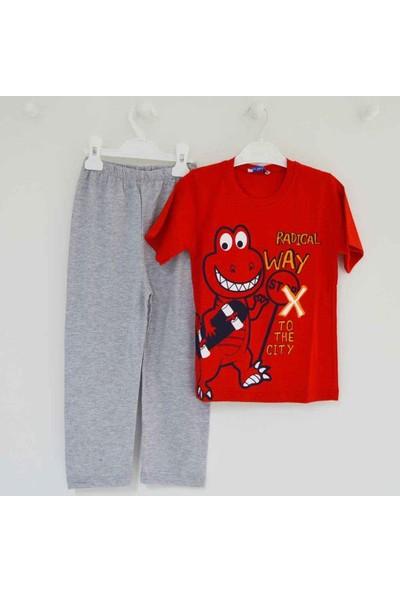 Mini Okyanus 2132 Baskılı Pijama Takımı