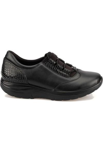 Travel Soft Trv920060 Siyah Kadın Sneaker Ayakkabı
