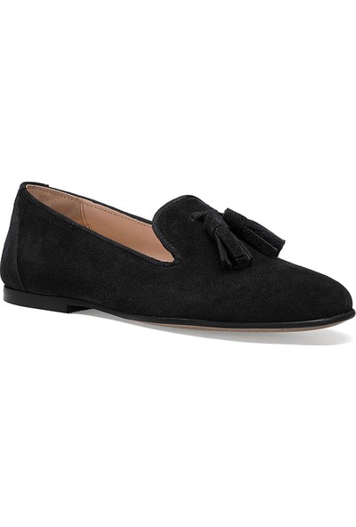 Nine West Panto Siyah Kadın Loafer Ayakkabı
