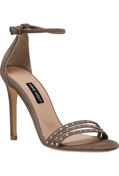 Nine West Mybelo Vizon Kadın Ökçeli Ayakkabı