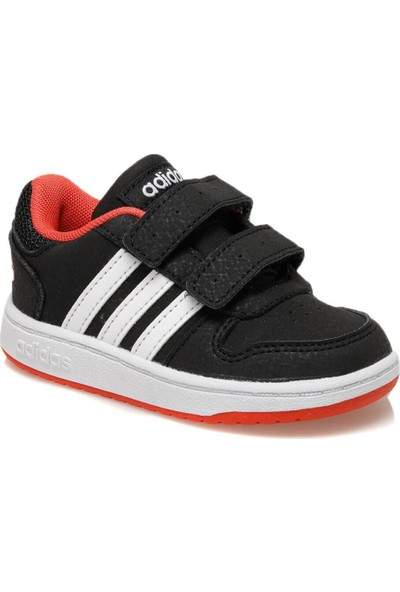 Adidas Hoops 2.0 Cmf I Siyah Erkek Çocuk Sneaker Ayakkabı