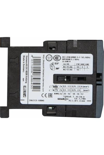 Siemens 24V 6A Sirius Yardımcı Kontaktör