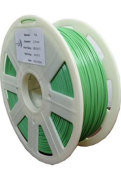 Happy Body Pla Premium 3D Printer Filament Açık Yeşil 1.75 mm - 1kg
