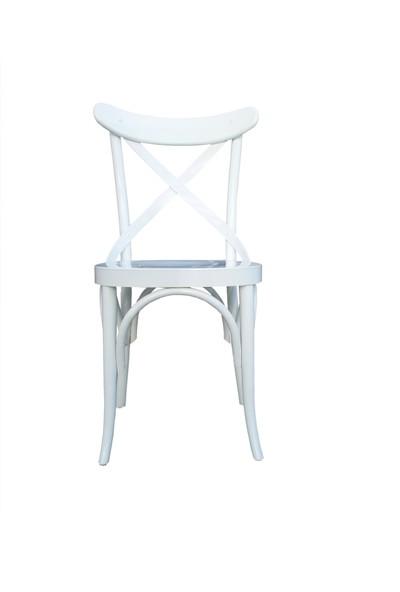 Bengi Sandalye Papel Ahşap Cafe Restaurant