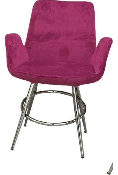 Bengi Sandalye Maki Kollu Dökme sünger Poliüratan Metal Nikeleanj
