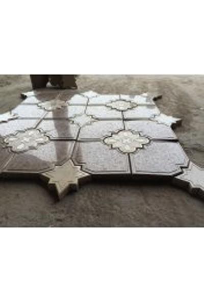 Sun Pigments Dekoratif Plastik Yer Döşeme Parke Taşı Kalıbı Yakamoz 10'lu