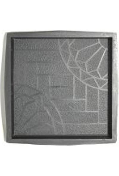 Sun Pigments Dekoratif Plastik Yer Karo Taşı Kalıbı Tretuar Papatya 5 cm 5'li
