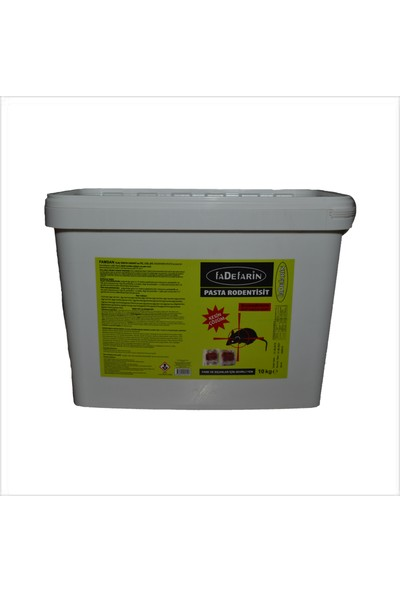 Famsan Ilaç Fadefarin Fare Zehiri Pastası 10 kg