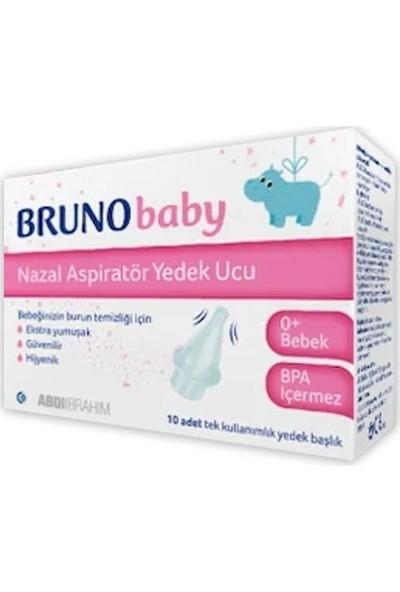 ABDİ İBRAHİM Bruno Baby Nazal Aspiratör Yedek Ucu 10 Adet