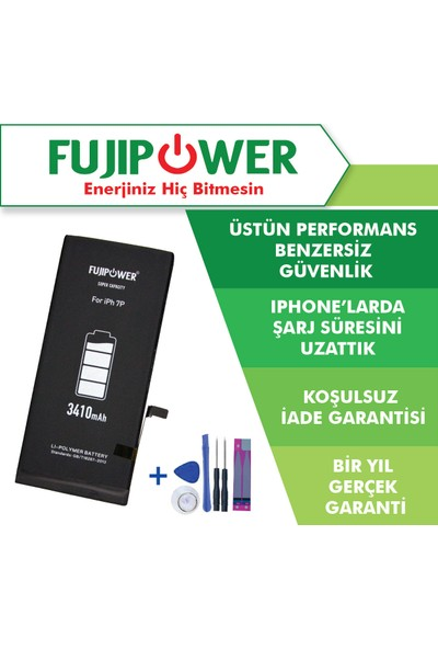 Fujipower Apple iPhone 7 Plus Batarya Pil 3410 mAh