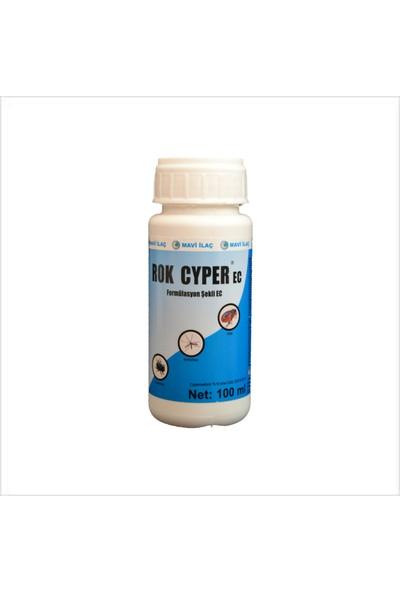 Rok Cyper Konsantre Ec 100 ml Karasinek Sivrisinek Pire