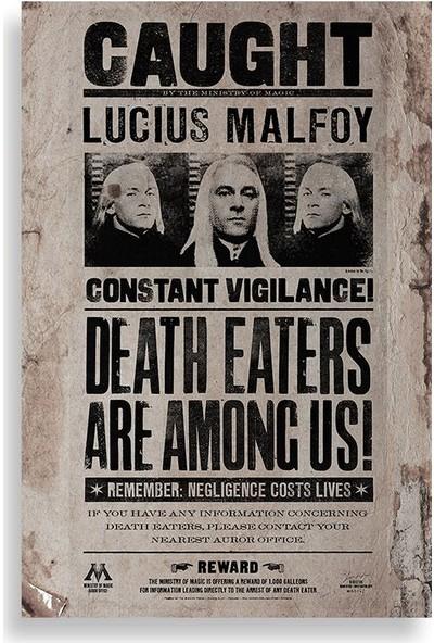 Ölüm Yiyenler Aranıyor Posterleri - Harry Potter