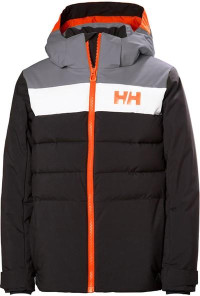 Helly Hansen Hh Jr Cyclone Jacket Hha 41689 Hha 980 10 Çocuk Abanoz Rengi Giyimteknik Mont