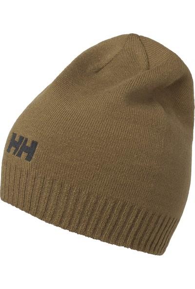 Helly Hansen Hh Brand Beanıe Hha 57502 Hha 719 Unisex Kahverengi Giyim Şapkalar