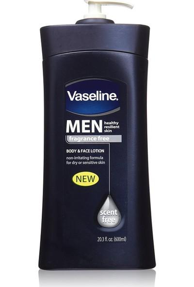 Vaseline Kokusuz Erkekler Için Yüz ve Vücüt Losyonu 600 ml