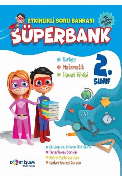 Dört İşlem Yayıncılık Süperbank 2. Sınıf Etkinlikli Soru Bankası